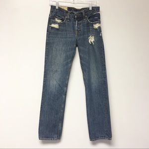 Hollister distress slim Straight Leg Jeans 28x30